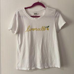 """""""Limoncello"""" Anthropologie T-Shirt"""